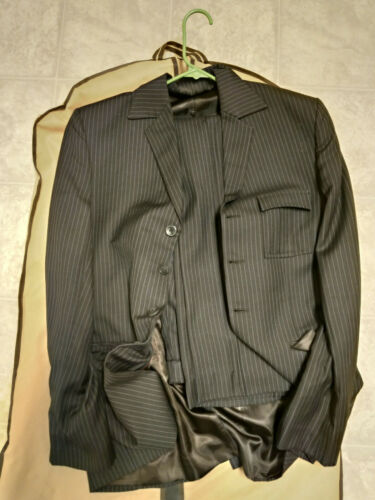 Doctor Who David Tennant Brown Pinstripe Suit