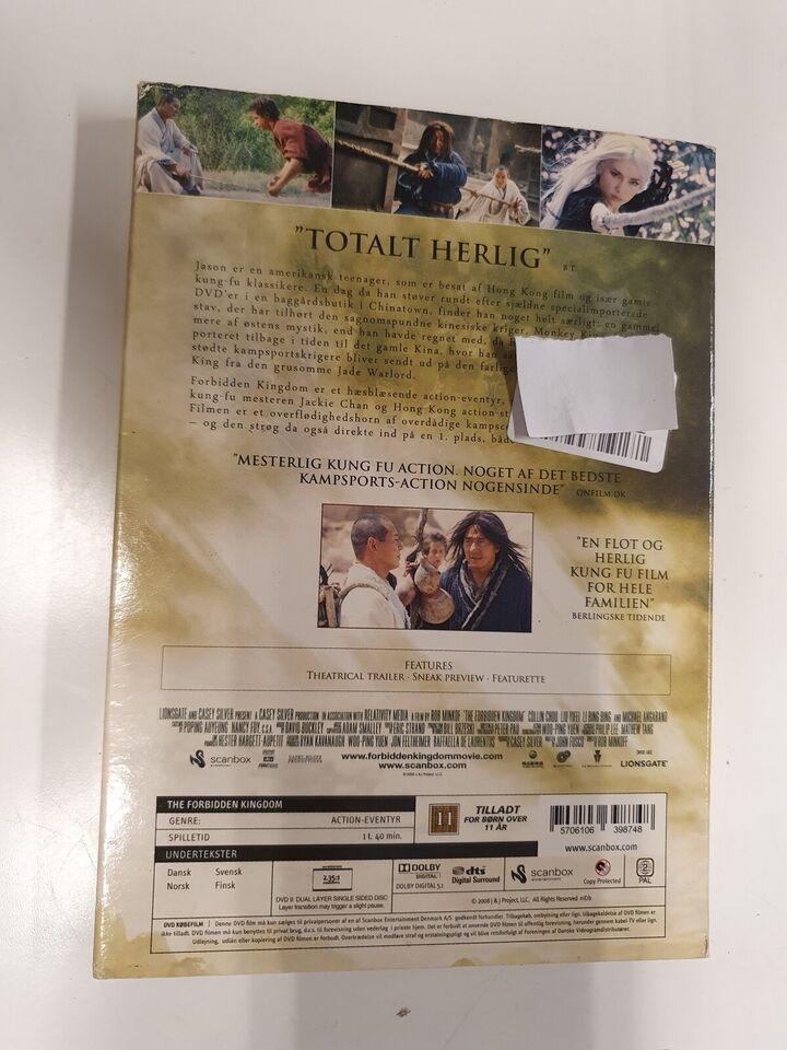 The forbidden Kingdom, DVD, action