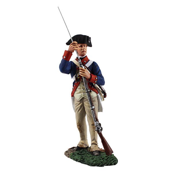 William Britains Continental Line 1st American Regt Standing Ramming New 16032