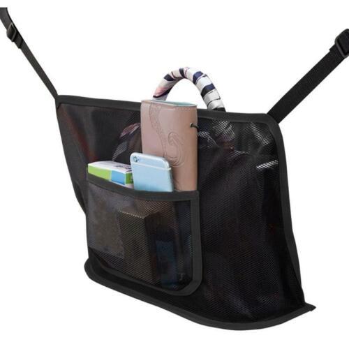 Car Net Pocket Handbag Holder Organizer Seat Side Storage Mesh Net Bag
