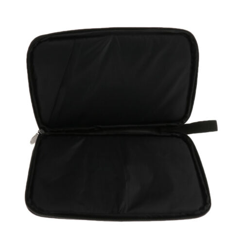 Portable Table Tennis Racket Case Cover Pingpong Paddle Bag with Zipper