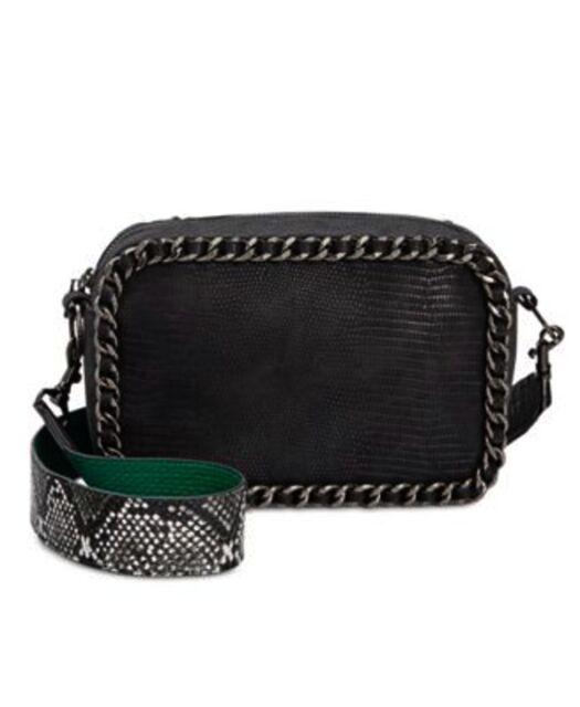 Circus By Sam Edelman Black Keeley Crossbody Handbag New