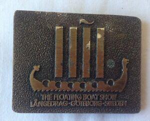 Boat-Show-Belt-Buckle-Vintage-Retro-Classic