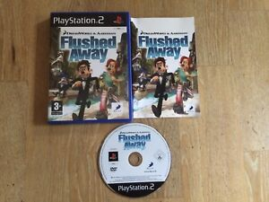 FLUSHED-AWAY-Inc-Instructions-Manual-PS2-PlayStation-2-PAL
