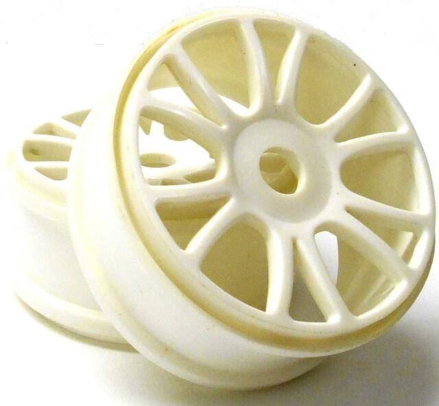 85732 1/8 Escala OFF-ROAD RC Buggy OFF-ROAD ruedas x 2 Plástico Blanco