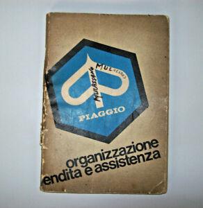 PIAGGIO-VESPA-FARO-BASSO-LIBRETTO-ORGANIZZAZIONE-DI-VENDITA-E-ASSISTENZA-LANG