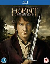 The Hobbit - An Unexpected Journey (Blu-ray, 2013, 2-Disc Set) FREE SHIPPING