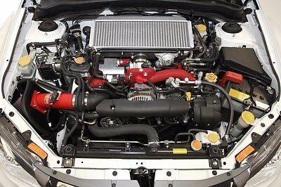 AEM 08-13 Fits Subaru IMPREZA WRX STi 2.5L Wrinkle RED Cold Air Intake System