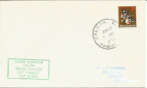 Maritime-Mail-Cover-Posted-On-Board-TS-Ocean-Monarch-Balboa-12-June-1972-U719