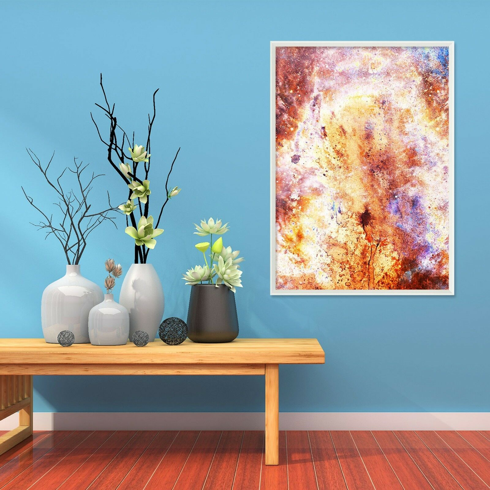 3D Abstract Painting 6 Framed Poster Home Decor Drucken Painting Kunst AJ AU