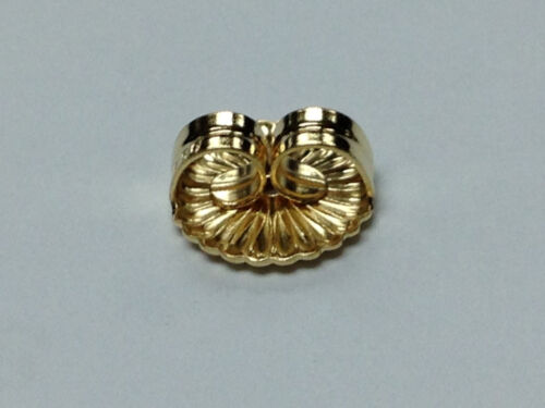18Kt 18K Yellow 9.2MM Earring Back Large Over-sized