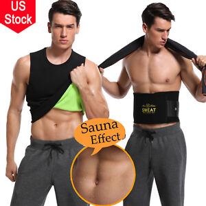 Men/'s Neoprene Hot Slimming Vest Cami Shapers Gym Women Body Sauna Sweat Thermal