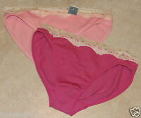 Womens Jaclyn Smith Set Of 2 Hi-cut Or Set Of 2 Bikini's-nwt