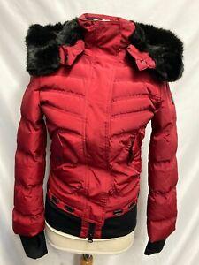 Details zu Wellensteyn Damen Winter Jacke Queens rot gesteppt QUE 382 Gr.XS Neu mit Etikett