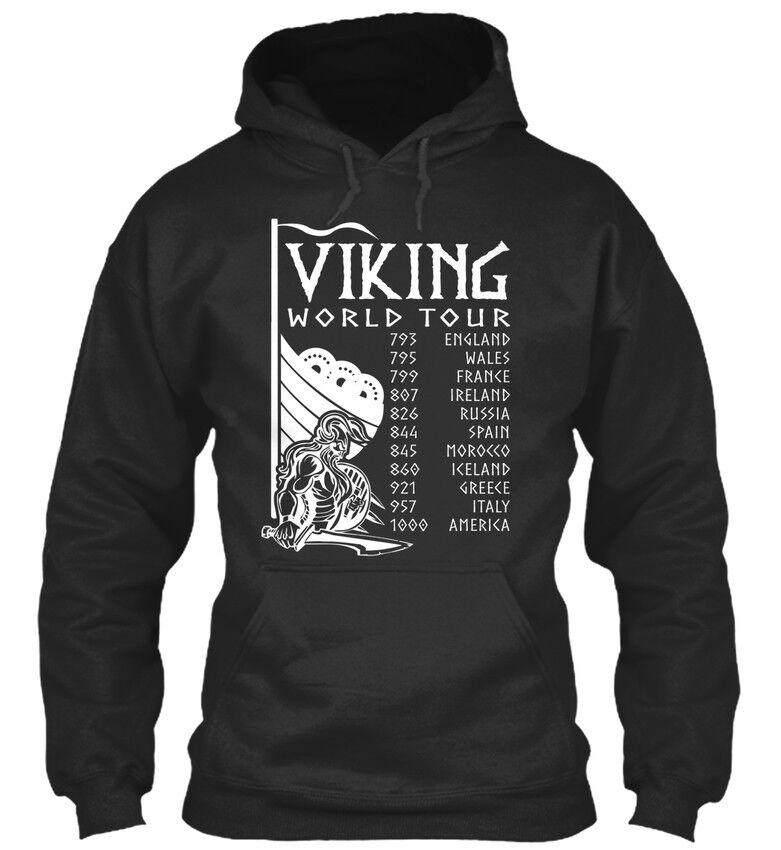 Must-have Viking Walhalla Odin Asgard-world Tour 793 Standard College Sweat à Capuche