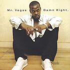 Damn Right by Mr. Vegas (CD, Jul-2001, Greensleeves Records)