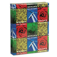 Mohawk Copier Gloss Cover Paper 100lb 94 Brightness Letter Pure White 250 Shts on Sale