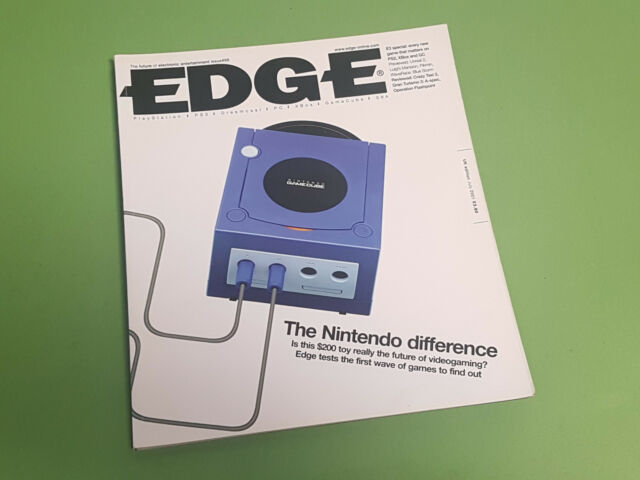 Edge Magazine - Issue 99 - July 2001 *The Nintendo Difference Cover*