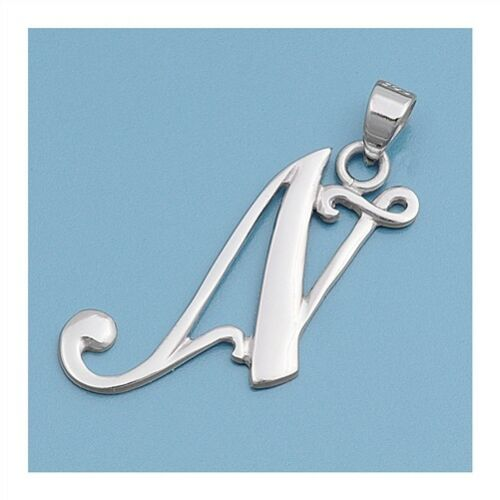 Alphabet Letter Pendants Sterling Silver 925 Best Price Jewelry Gift Various