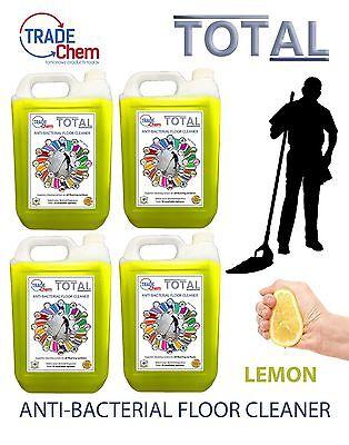 Boden Reiniger 5l/10l/15l/20l Total Antibakteriell - Zitrone Duftend Gut FüR Antipyretika Und Hals-Schnuller