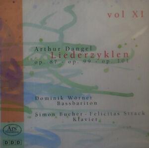 Cd-Arthur-Dangel-Liederzyklen-vol-11-NUOVO-conf-orig
