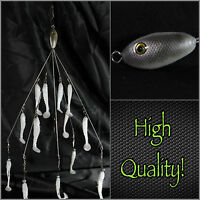 Alabama/umbrella Rig (bait Ball Style) 5 Wire13 Baits Total High Quality