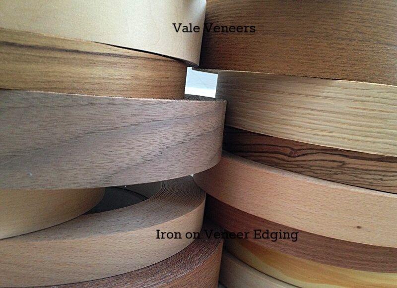 Details about Iron on Veneer Edging Tape/Wood Veneer Trim Edge Banding  18mm,22m,30mm,40mm,50mm