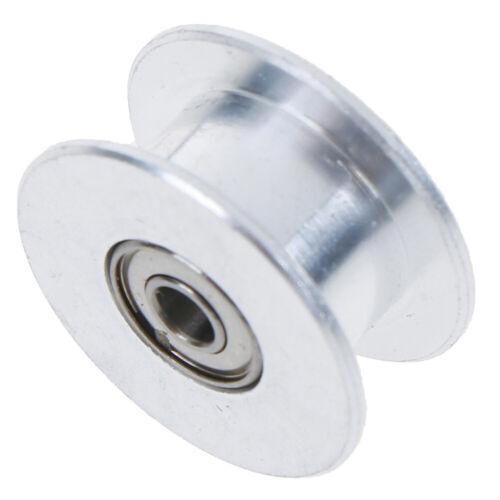 GT2 Idler Timing Pulley Bearing 16T 20T 3//5mm Bore F 6mm /'Belt Reprap 3D Printer