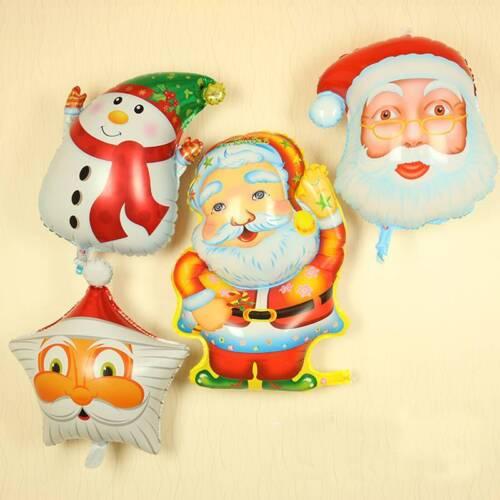 Foil Balloons Christmas Series Tree Santa Claus Snowman Fun Toys Party Decor