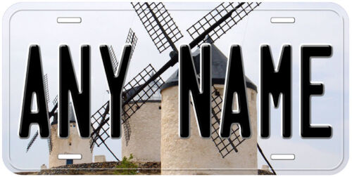 Don Quixote Novelty Car Aluminum Any Name Personalized Auto License Plate
