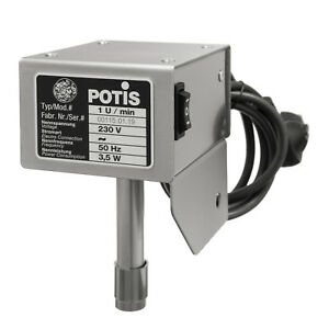Potis-Motor-Motorantrieb-ORIGINAL-Antrieb-Kebab-Grill-Doener-Gyross-230V-50Hz-NEU