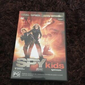 SPY KIDS DVD.