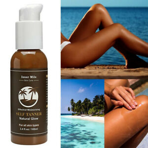 100ml-Self-Tanner-Organic-Natural-Sunless-Tanning-Body-Lotion-Cream-Bronzing