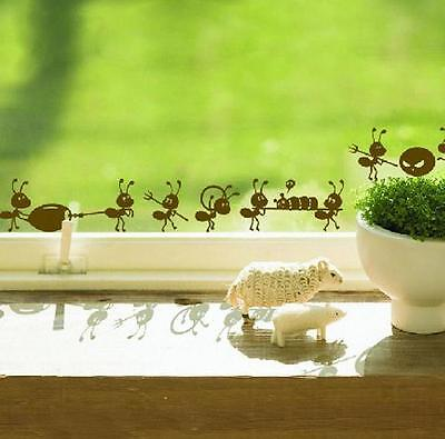 Ants Moving Creative Decoration Decorative Wall Art Stickers Home Design Idea