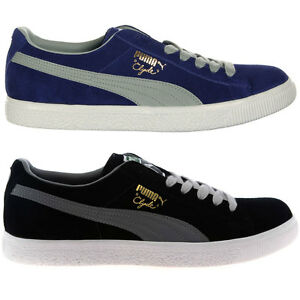 Details about Puma Suede Clyde Premium Core Mens Casual Retro Vintage Sneakers Trainers