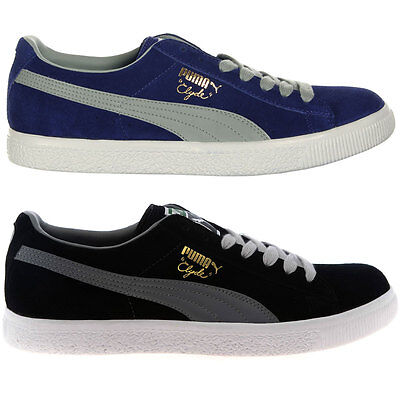 puma clyde script mens trainers shoes casual shoes brand