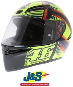 Details About Agv K1 K 1 Valentino Rossi Soleluna 2015 Race Replica Motorcycle Helmet Full J S