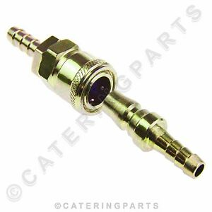 SNAP FIT QUICK RELEASE COUPLER COUPLING FULHAM TYPE NOZZLE FOR FLEXIBLE GAS HOSE