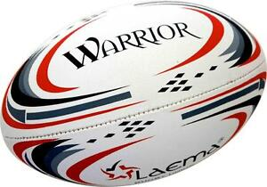Warrior-Hi-Tec<wbr/>h UltraPin Grip 4PLY Rugby Union OzTag Touch Match Ball Size 3,4&5