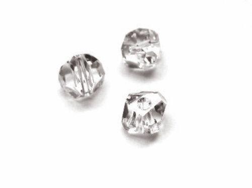 2xSwarovski® 5603 6mmGraphic Cubic Crystal  Bead