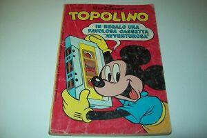 WALT-DISNEY-TOPOLINO-MICKEY-MOUSE-LIBRETTO-MONDADORI-N-1556-22-SETTEMBRE-1985