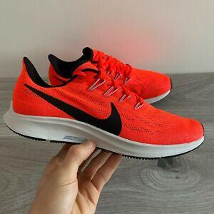 Nike Homme Air Zoom Pegasus 36-UK 7.5/US 8.5/EUR 42-rouge/noir (AQ2203-600)