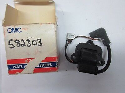 OMC Johnson Evinrude replacement Marine Ignition Coil 183-2303 502886 582303 NEW