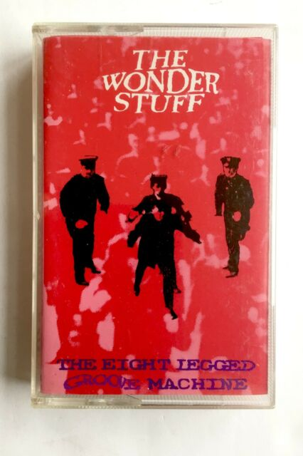 THE WONDER STUFF - THE EIGHT LEGGED GROOVE MACHINE - Cassette GONMC1