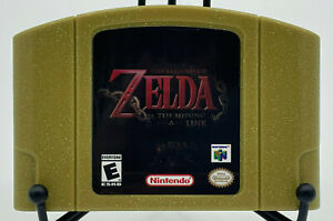 The Legend of Zelda: The Missing Link   Rare Nintendo 64 Golden Cartridge!