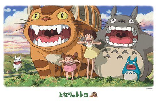 Studio Ghibli Jigsaw Puzzle 1000 Pieces My Neighbor Totgold 1000-245