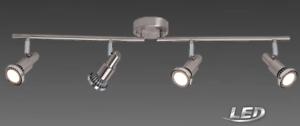 Brilliant LED Deckenlampe Spot 4 Flammig Spot Lampe Leuchte G57432//77