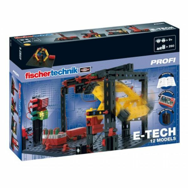 Fischertechnik Scientifique - PROFI, Coffret Capteurs E-TECH éco 91083 (440006)