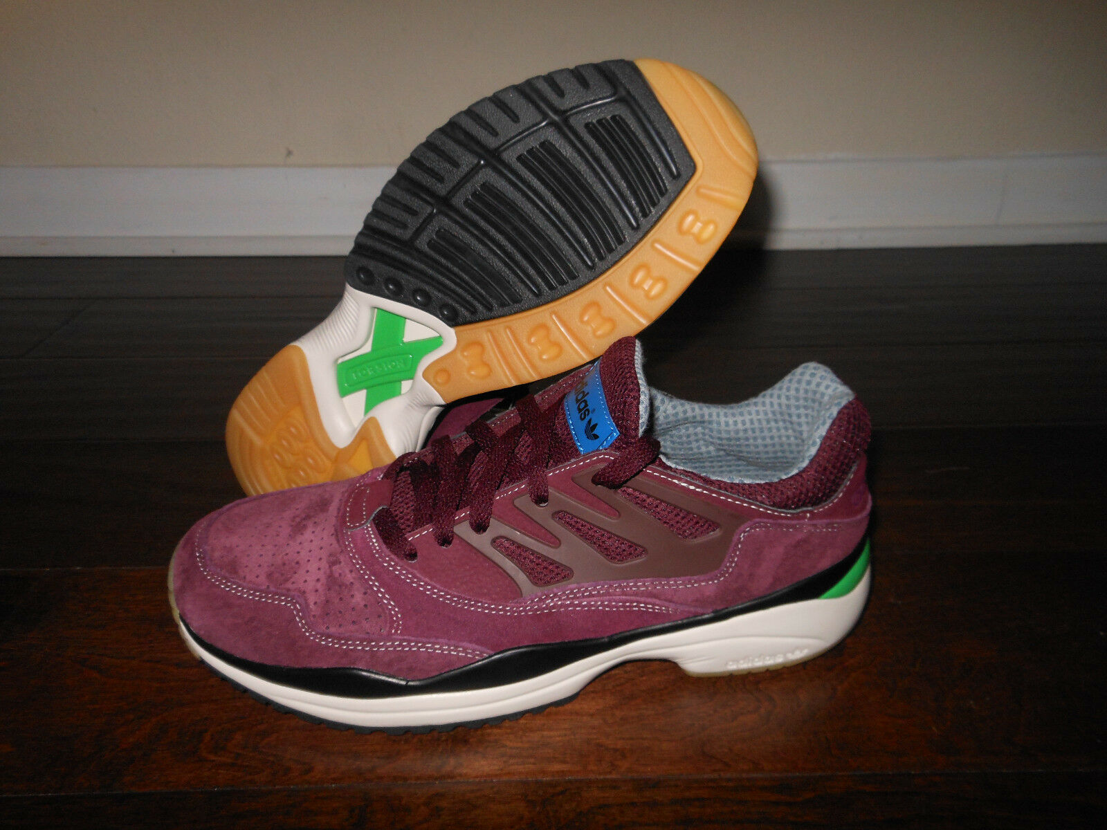 ADIDAS TORSION ALLEGRA G96665 Athletic Shoes Size 8 Men 41 EUR Maroon