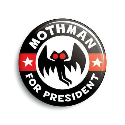 Bigfoot For President button